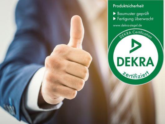 DEKRA-geprüfte Qualität